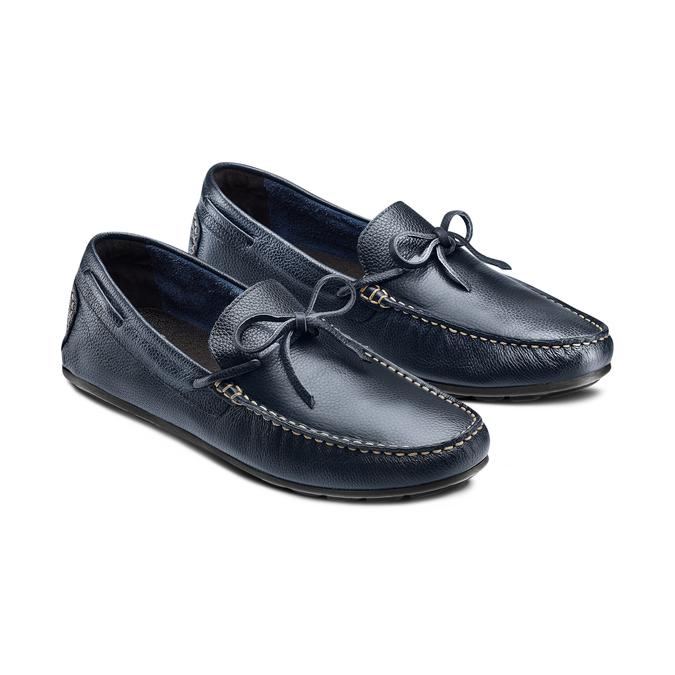 BATA Chaussures Homme bata, Bleu, 854-9255 - 16
