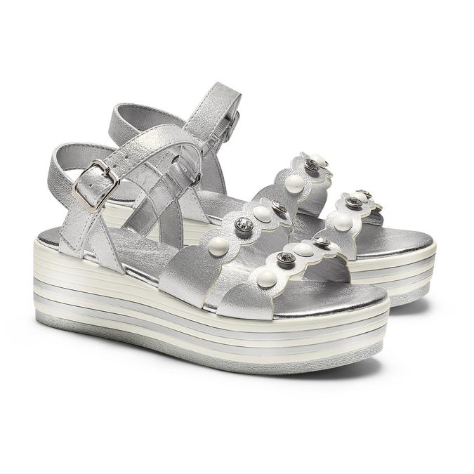 MINI B Chaussures Enfant mini-b, Argent, 361-1283 - 26