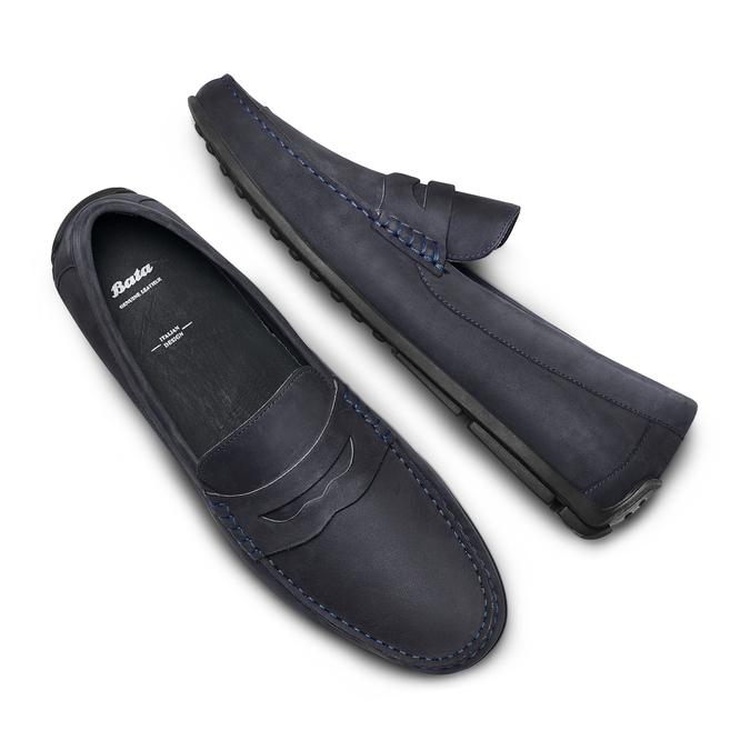 BATA Chaussures Homme bata, Bleu, 856-9263 - 26