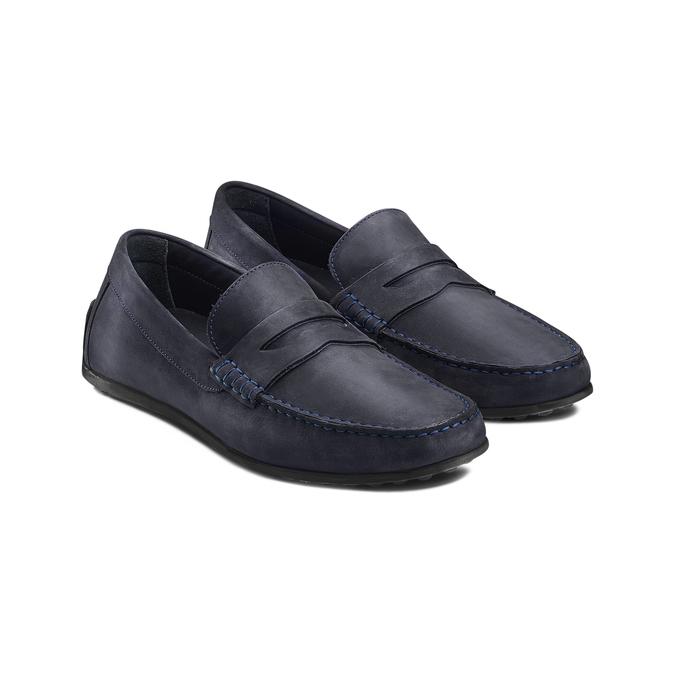 BATA Chaussures Homme bata, Bleu, 856-9263 - 16