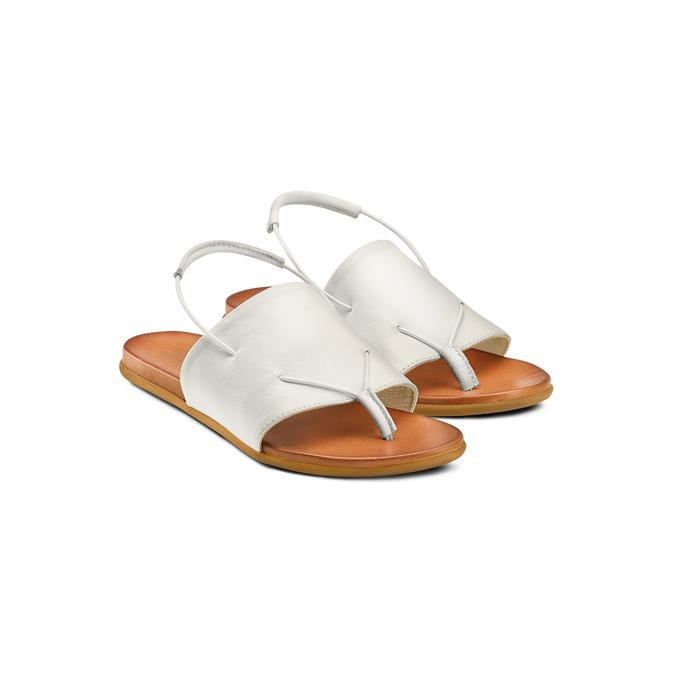 BATA Chaussures Femme bata, Blanc, 564-1385 - 16