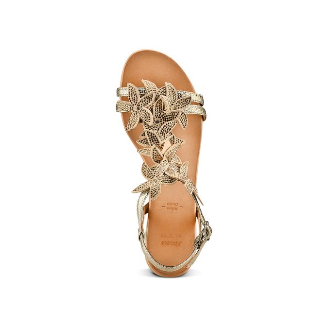 BATA Chaussures Femme bata, Or, 563-8559 - 17