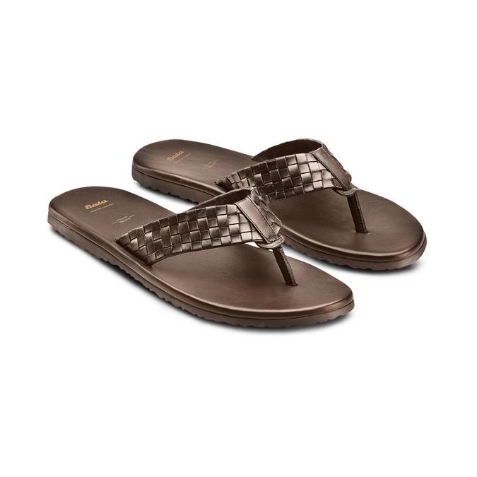BATA Chaussures Homme bata, Brun, 864-4242 - 16