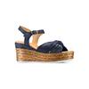 BATA Chaussures Femme bata, Bleu, 763-9591 - 13