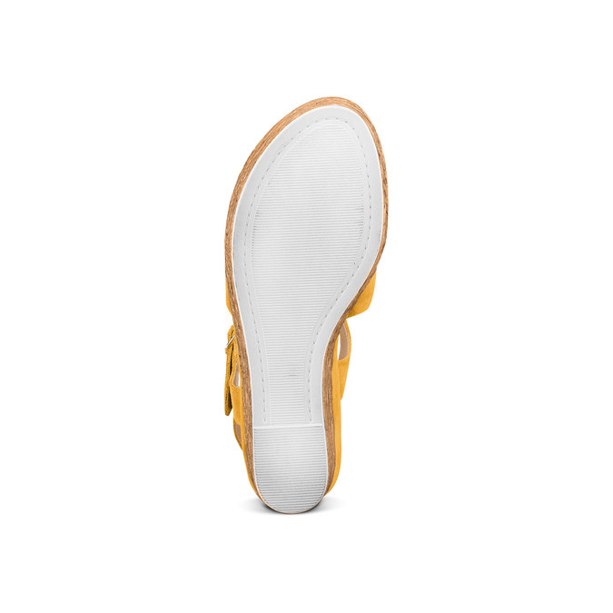 BATA Chaussures Femme bata, Jaune, 763-0591 - 19