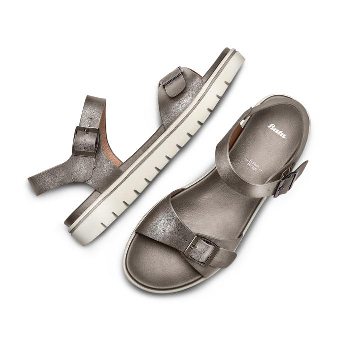 BATA Chaussures Femme bata, Gris, 561-2493 - 26