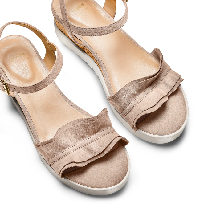 BATA Chaussures Femme bata, Beige, 669-2382 - 26