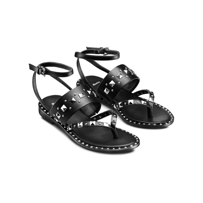 BATA Chaussures Femme bata, Noir, 561-6573 - 16