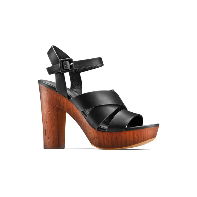 BATA Chaussures Femme bata, Noir, 761-6582 - 13