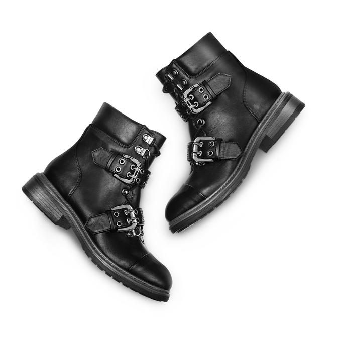 BATA Chaussures Femme bata, Noir, 591-6275 - 26