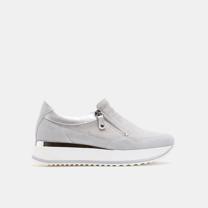 Chaussures Femme bata, Argent, 633-1102 - 13