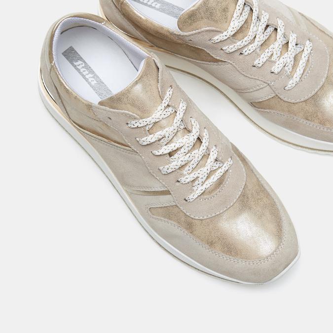 Chaussures Femme bata, Beige, 643-8159 - 17