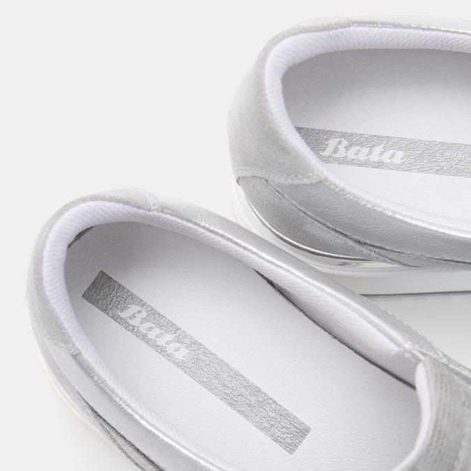 Chaussures Femme bata, Argent, 633-1102 - 16