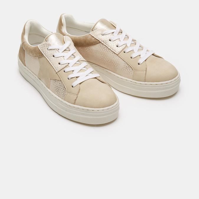 Chaussures Femme bata, Beige, 541-8559 - 16