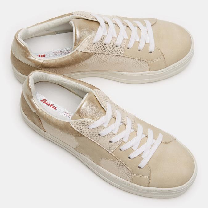 Chaussures Femme bata, Beige, 541-8559 - 19
