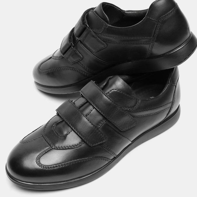 Chaussures Homme bata, Noir, 844-6879 - 17