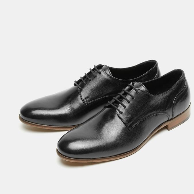 Herren Shuhe bata-the-shoemaker, Schwarz, 824-6259 - 26
