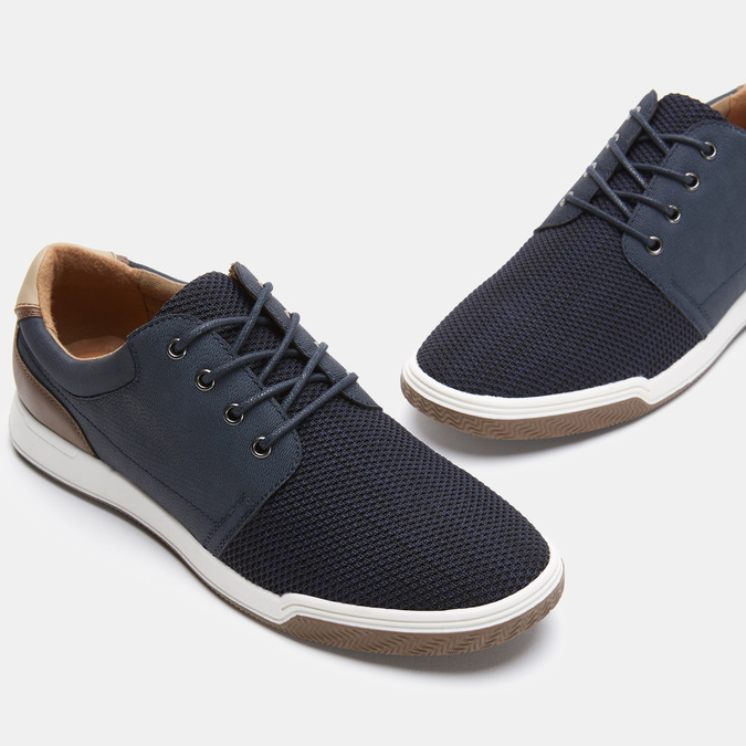Chaussures Homme bata-rl, Bleu, 849-9824 - 19
