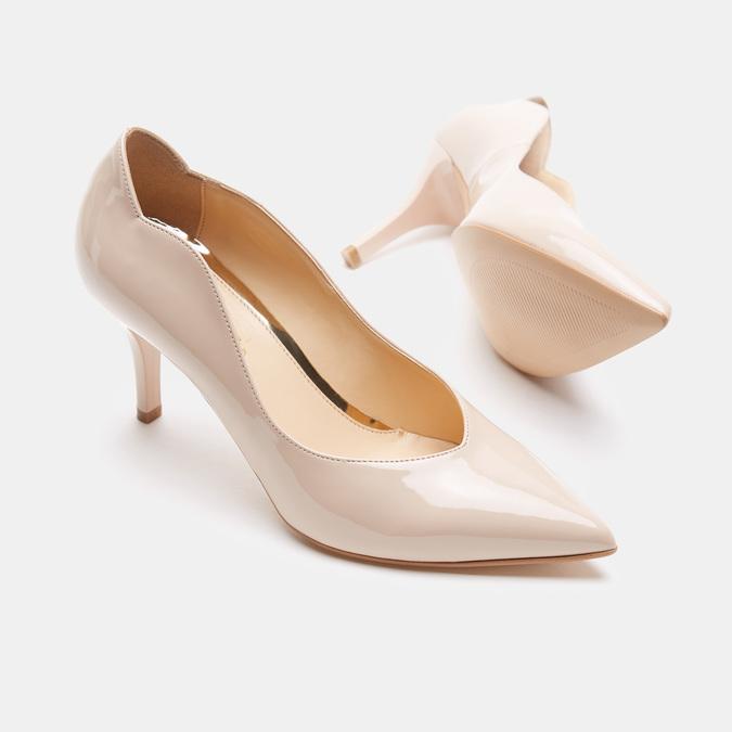 Chaussures Femme bata, Beige, 721-8356 - 19