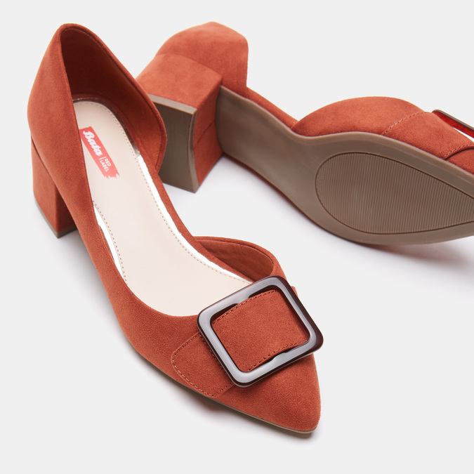 Damen Shuhe bata-rl, Orange, 629-8154 - 17