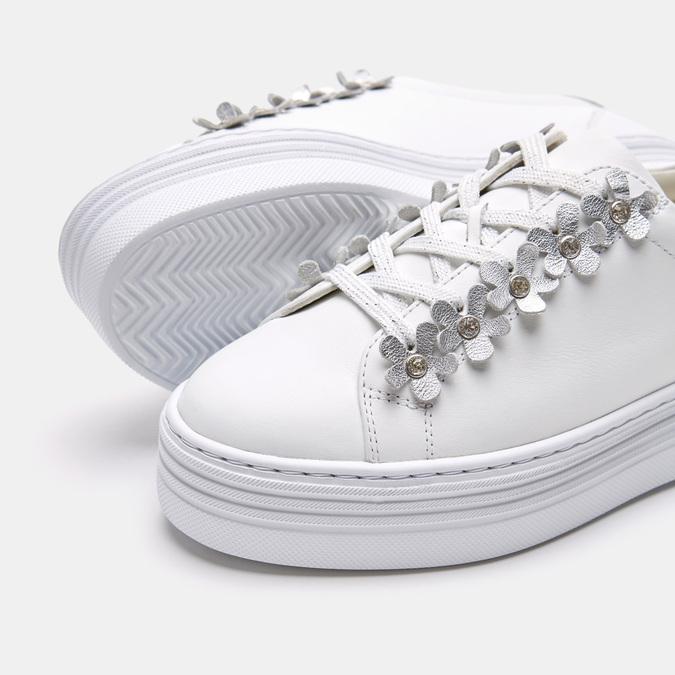 Chaussures Femme bata, Blanc, 544-1548 - 17