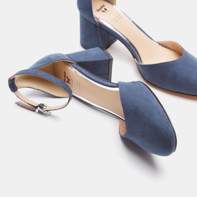 Chaussures Femme insolia, Bleu, 629-9199 - 17