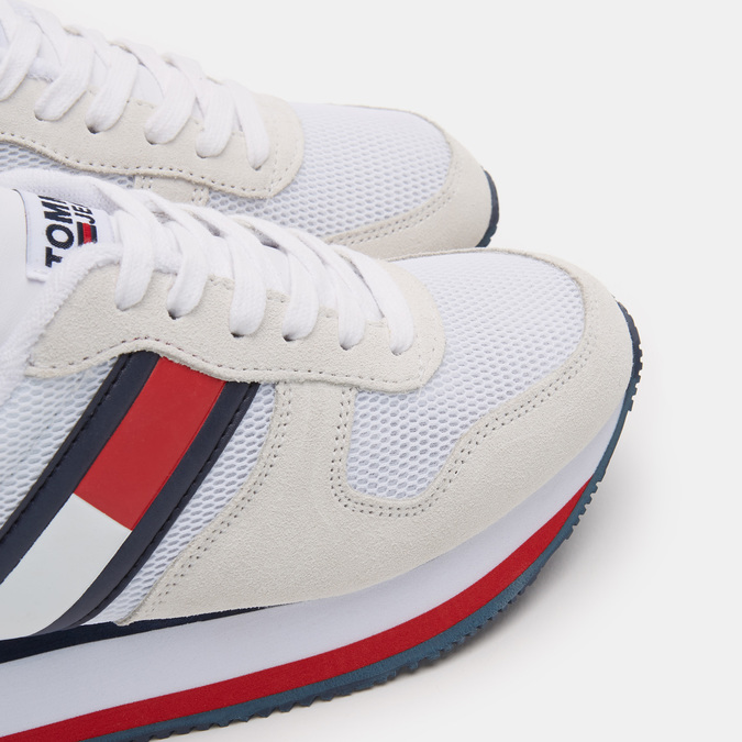 Chaussures Femme tommy-hilfiger, Blanc, 543-1545 - 19