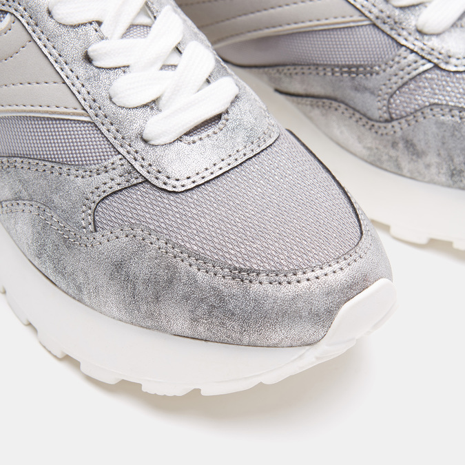 Chaussures Femme bata, Argent, 541-2574 - 26