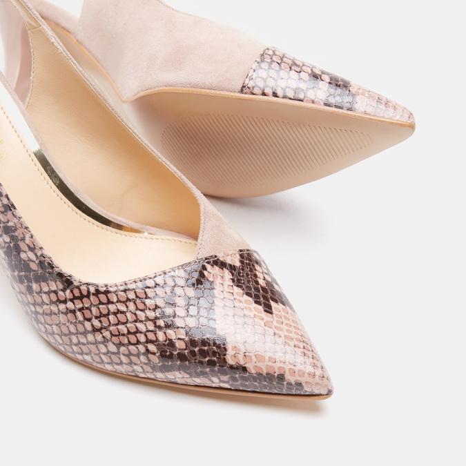 Chaussures Femme bata, Beige, 723-8412 - 19