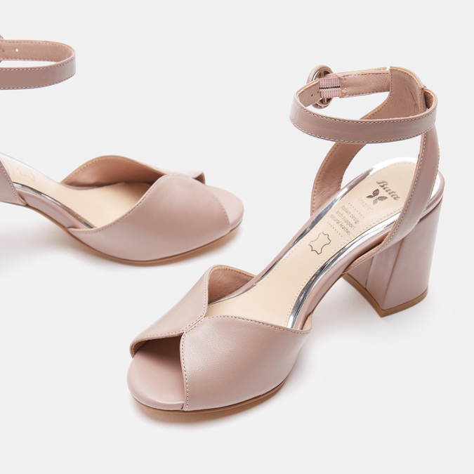 Chaussures Femme insolia, Rose, 764-5405 - 17