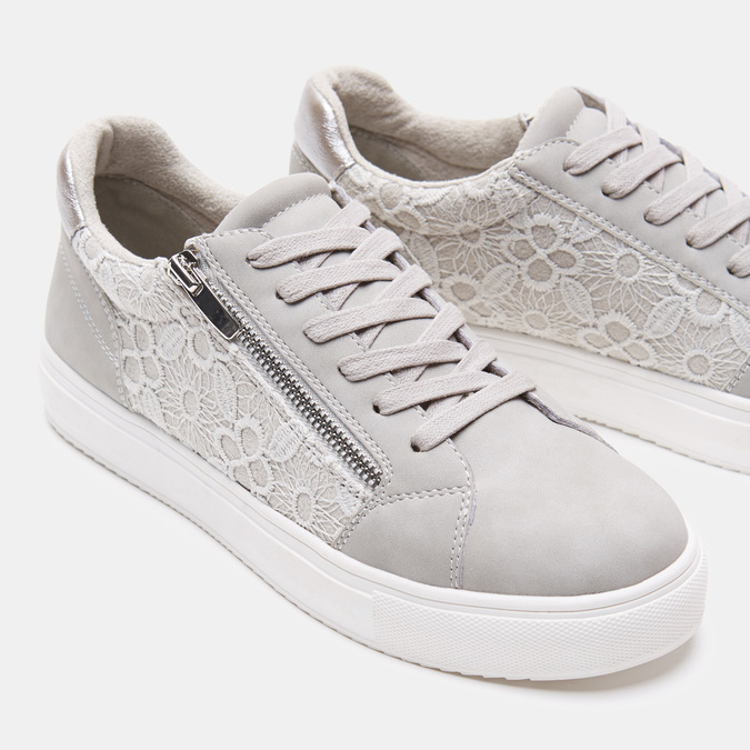 Chaussures Femme bata, Gris, 549-2553 - 16