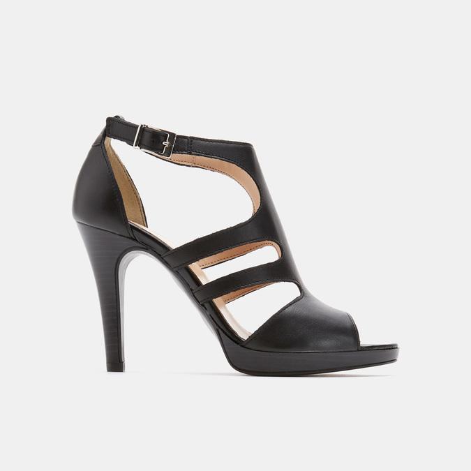 Chaussures Femme bata, Noir, 764-6391 - 13