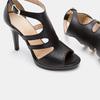 Chaussures Femme bata, Noir, 764-6391 - 16