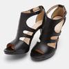 Chaussures Femme bata, Noir, 764-6391 - 19
