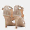 Chaussures Femme bata, Beige, 764-8391 - 16