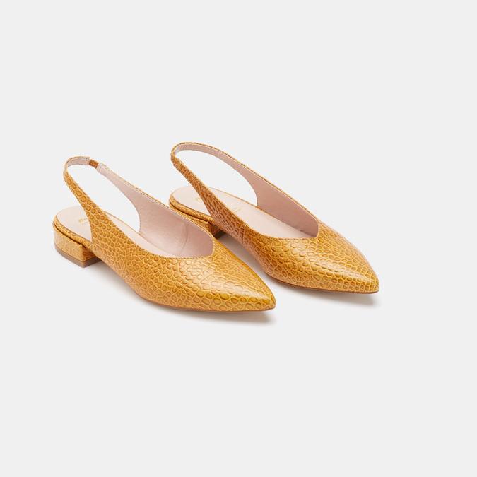 Chaussures Femme bata, Jaune, 534-8171 - 16