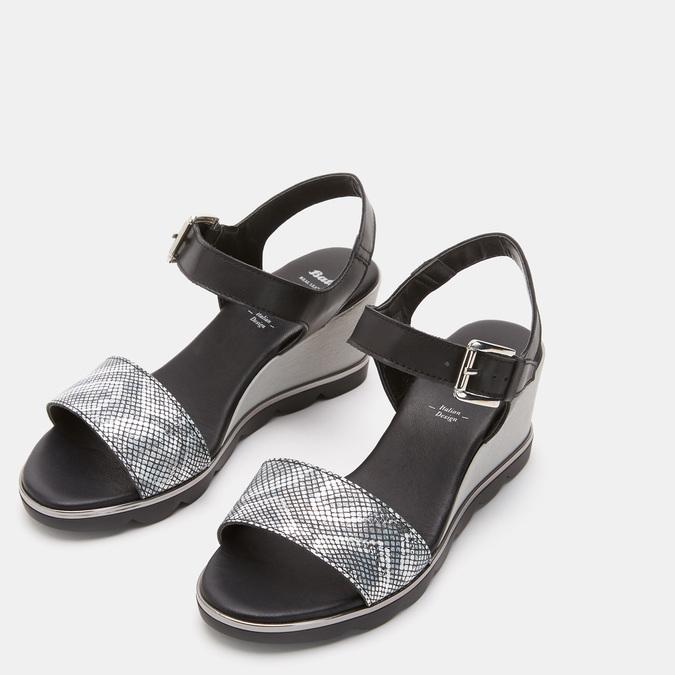 Chaussures Femme bata, Noir, 764-6757 - 17
