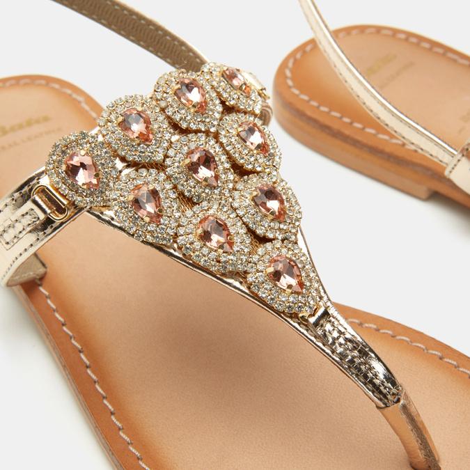 Chaussures Femme bata, Or, 564-8711 - 26