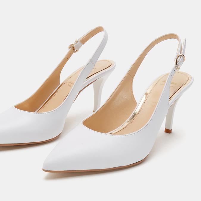 Chaussures Femme bata, Blanc, 724-1413 - 15