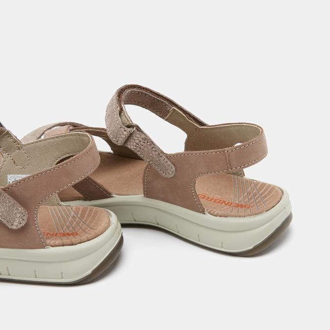 Chaussures Femme weinbrenner, Or, 566-8724 - 15