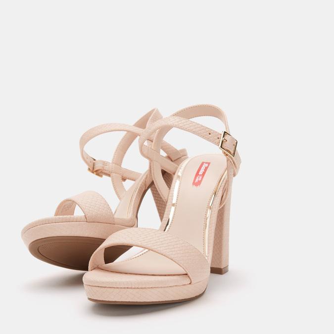 Chaussures Femme bata-rl, Rose, 761-5665 - 19