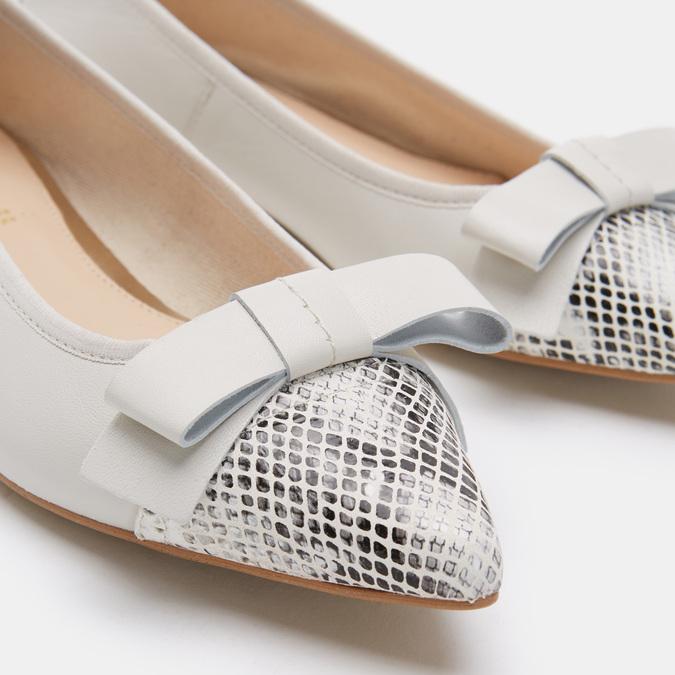 Chaussures Femme bata, Blanc, 524-1381 - 26