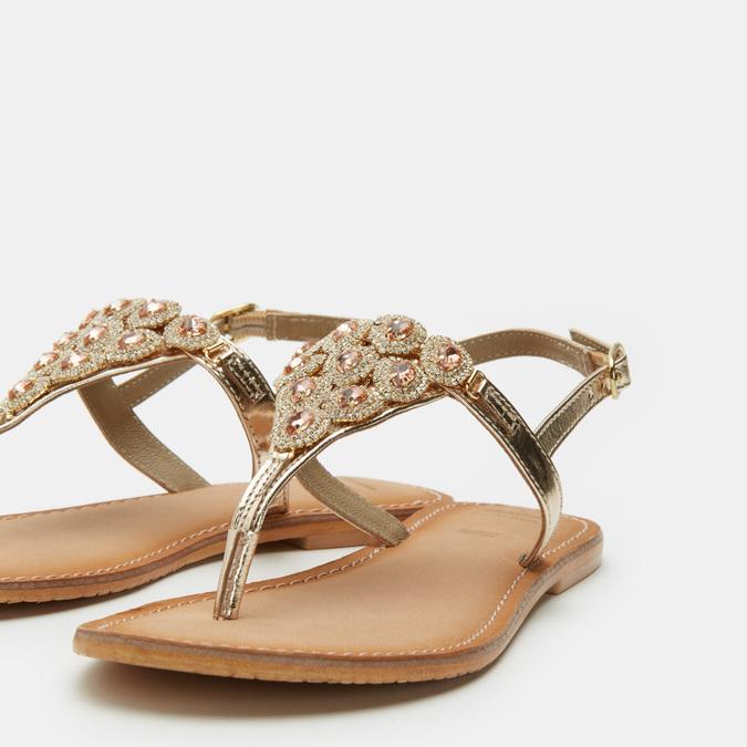 Chaussures Femme bata, Or, 564-8711 - 17