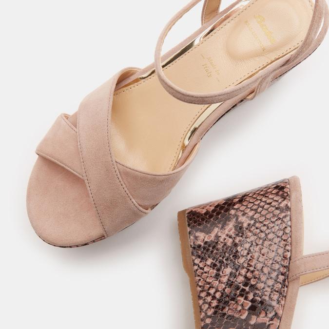 Chaussures Femme bata, Beige, 763-8749 - 19