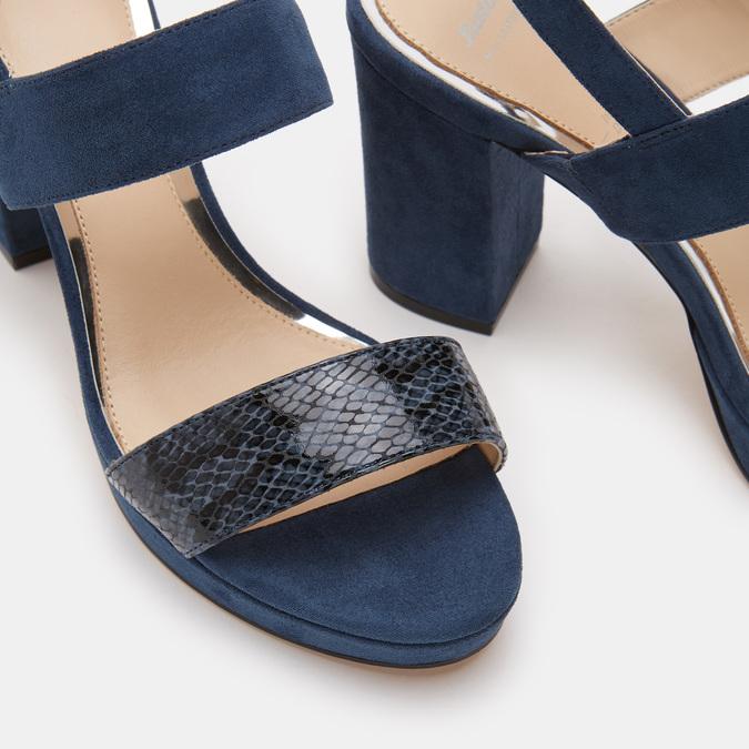 Chaussures Femme bata, Bleu, 769-9221 - 26