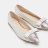 Chaussures Femme bata, Blanc, 524-1381 - 16