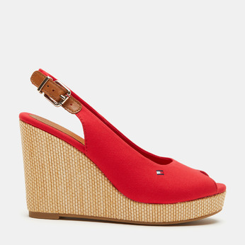 Chaussures Femme tommy-hilfiger, Rouge, 769-5365 - 13