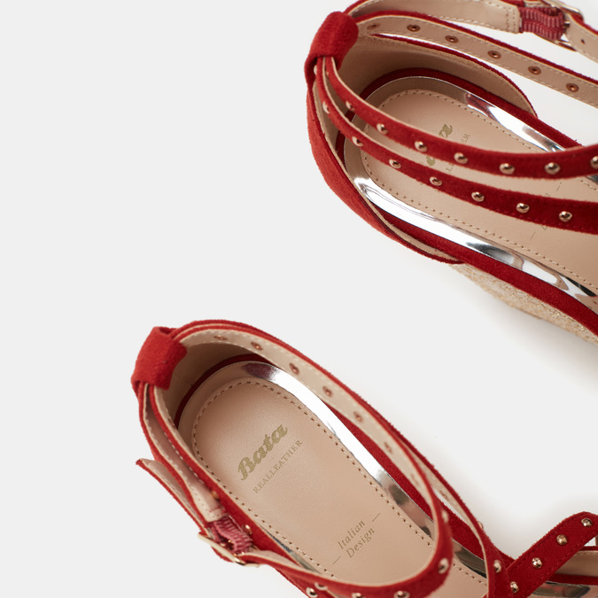 Chaussures Femme bata, Rouge, 769-5775 - 19