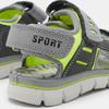 Chaussures Enfant primigi, Gris, 261-2138 - 26
