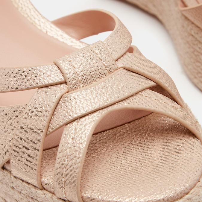 Chaussures Femme bata, Or, 761-8782 - 26